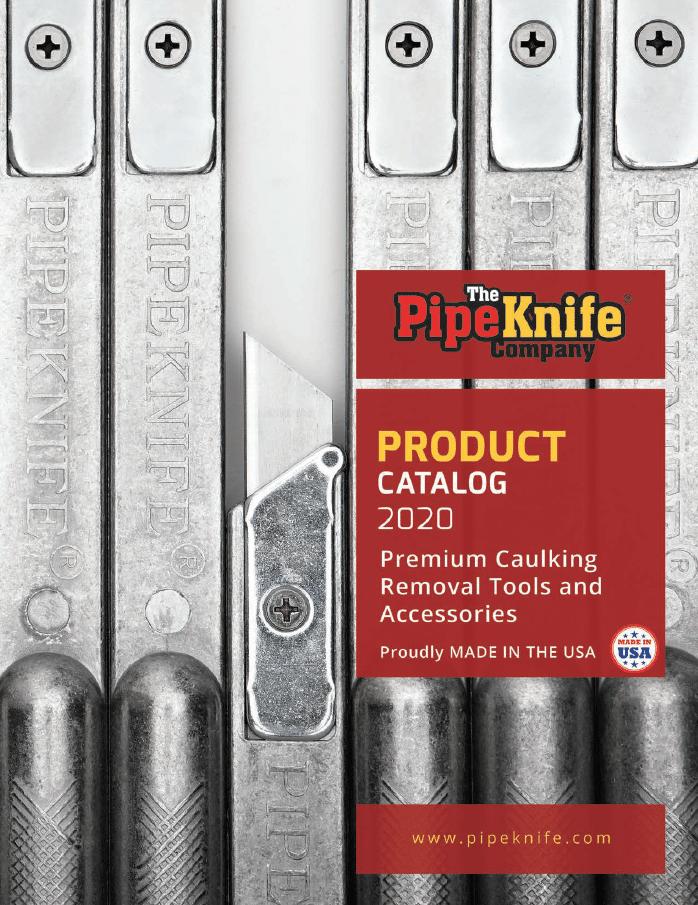 PipeKnife Caulking Tools Catalog